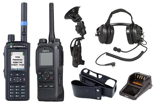 TETRA radios
